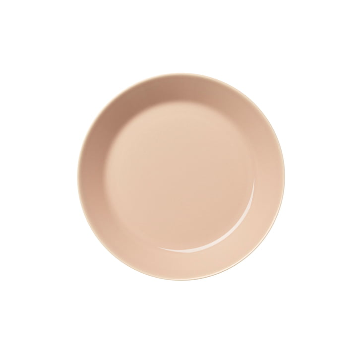 Teema Teller flach Ø 17 cm von Iittala in puder