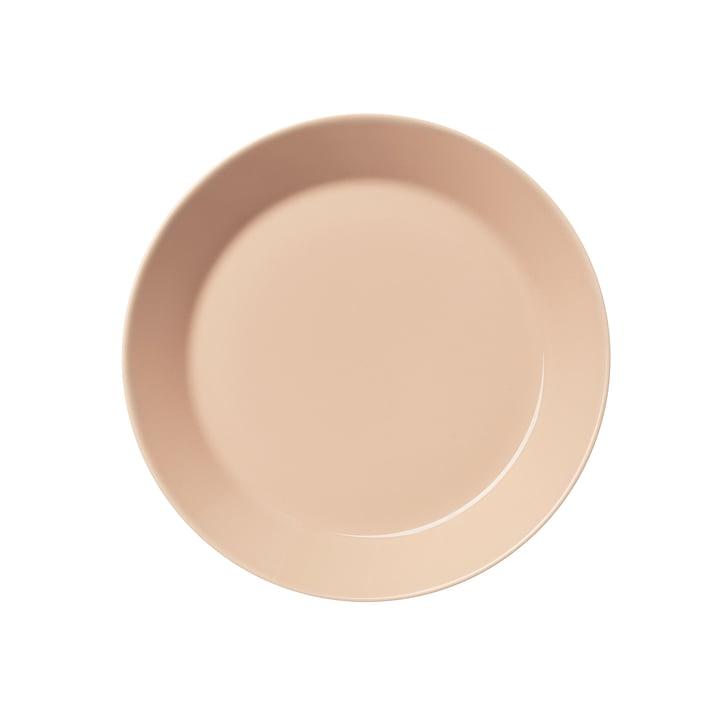 Teema Teller flach Ø 21 cm von Iittala in puder