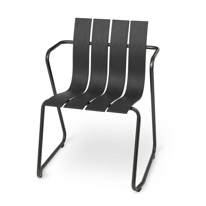 Ocean Stuhl von Mater in schwarz