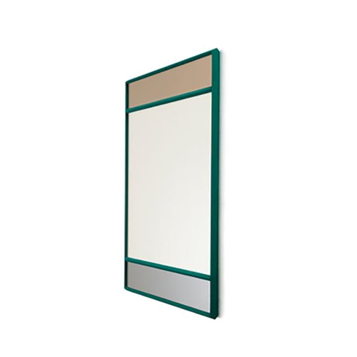 Vitrail Wandspiegel 50 x 50 cm von Magis in grün / mehrfarbig