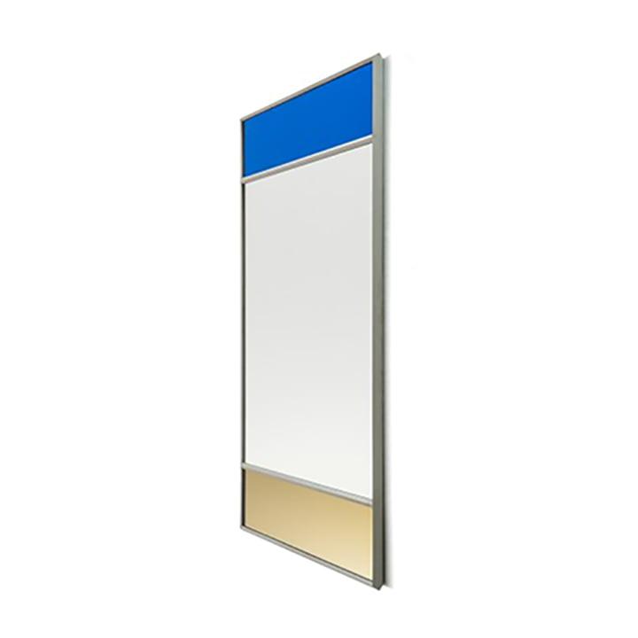 Vitrail Wandspiegel 50 x 70 cm von Magis in hellgrau / mehrfarbig