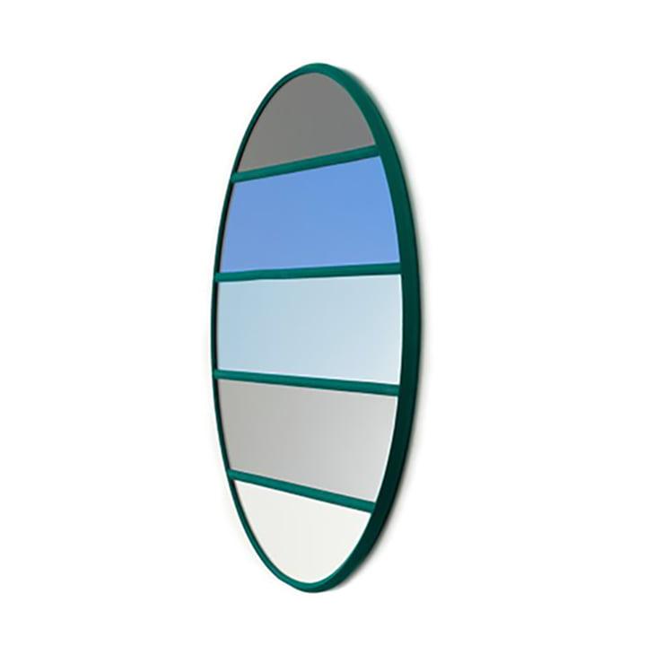 Vitrail Wandspiegel Ø 50 cm von Magis in grün / mehrfarbig