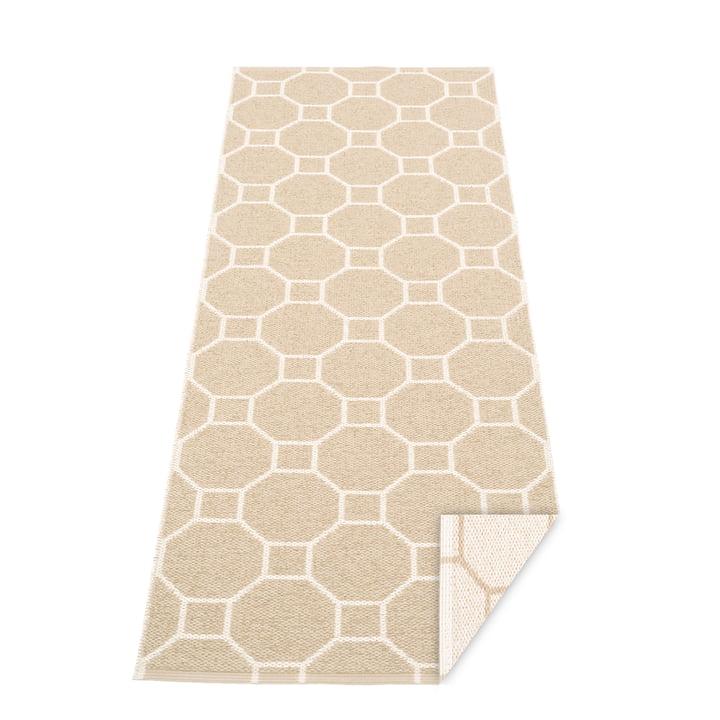 Rakel Wendeteppich, 70 x 225 cm in beige / vanilla von Pappelina