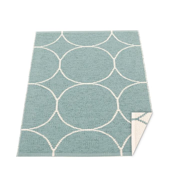 BooWendeteppich, 70 x 100 cm in haze / vanilla von Pappelina