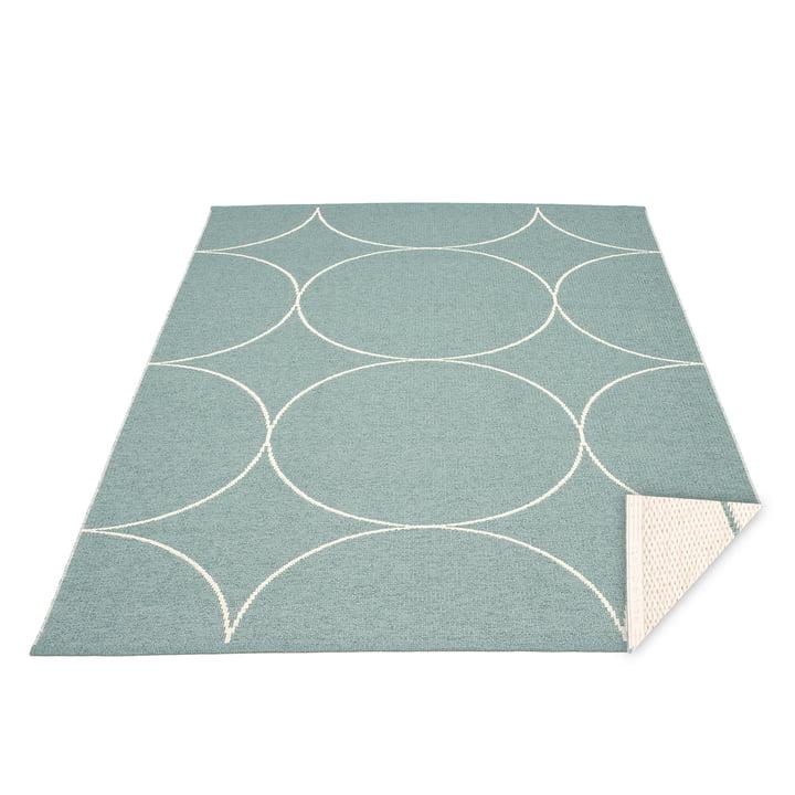 BooWendeteppich, 180 x 275 cm in haze / vanilla von Pappelina