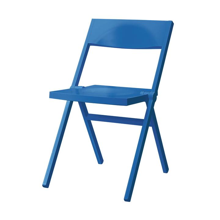 Piana Klappstuhl von Alessi in blau