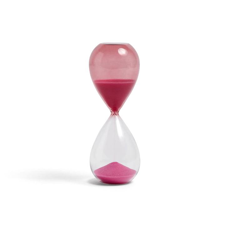 Time Sanduhr M von Hay in pink