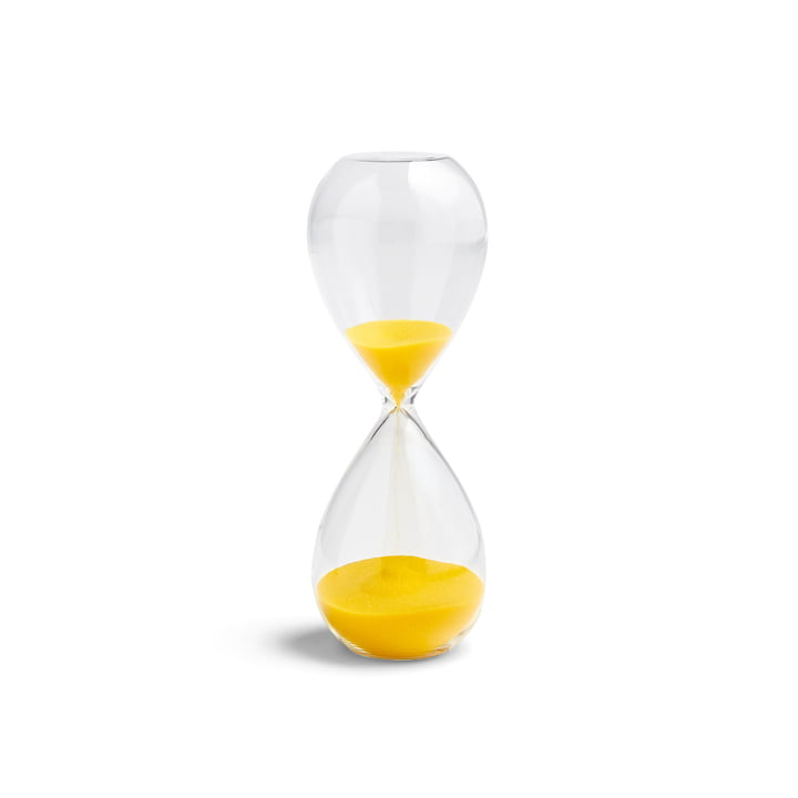 Time Sanduhr M von Hay in lemon yellow