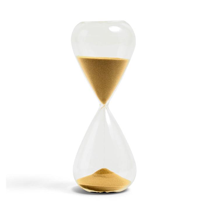 Time Sanduhr XL von Hay in gold