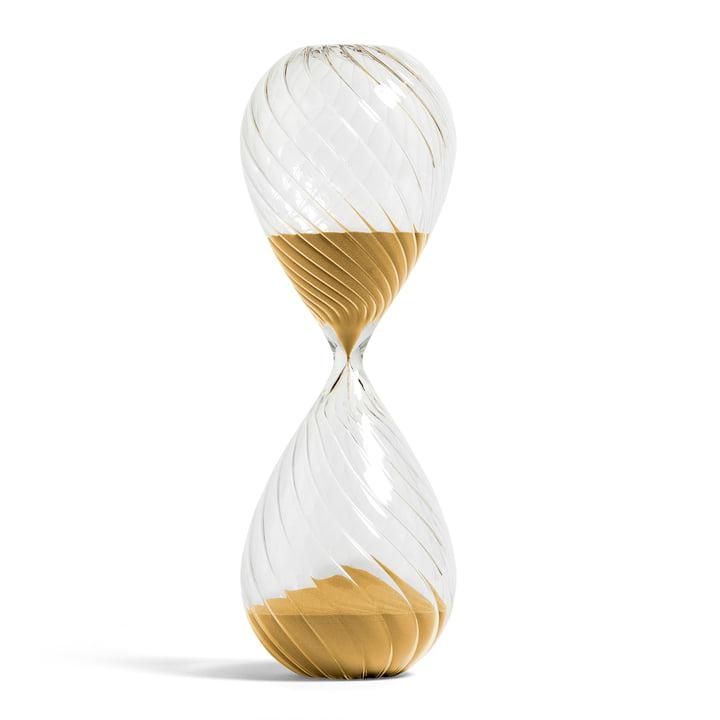 Time Sanduhr XXL Swirl von Hay in gold
