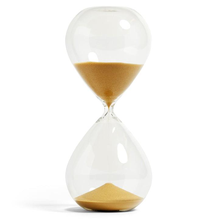 Time Sanduhr XXXL von Hay in gold