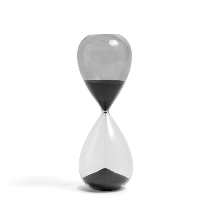 Time Sanduhr L von Hay in schwarz