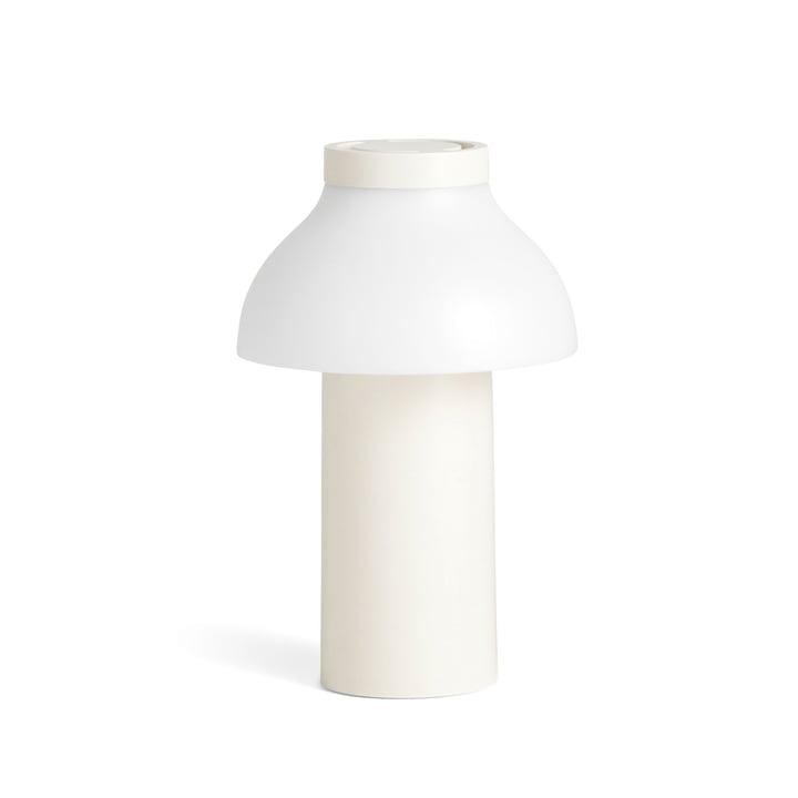 PC Portable LED Leuchte von Hay in cremeweiß (RAL 9010)