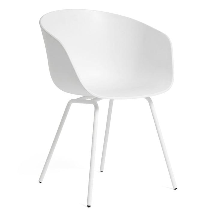 About A Chair AAC 26 von Hay in Stahl weiß / weiß