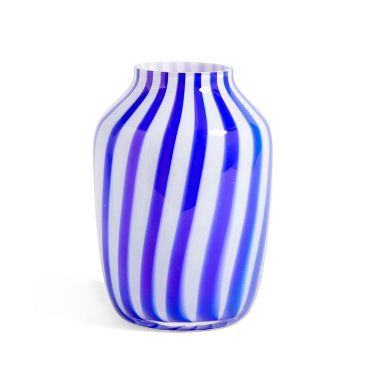 Juice Vase Ø 20 x H 28 cm von Hay in blau