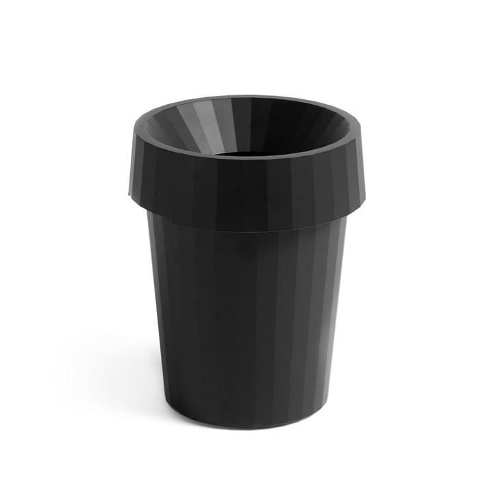 Shade Bin Ø 30 x H 36,5 cm 14 l von Hay in schwarz