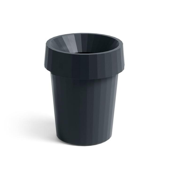 Shade Bin Ø 30 x H 36,5 cm 14 l von Hay in charcoal