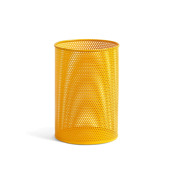 Perforated Bin M Ø 25 x H 36 cm von Hay in gelb