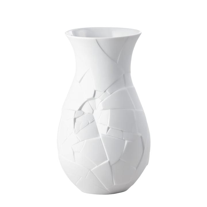 Vase of Phases 21 cm von Rosenthal in weiß