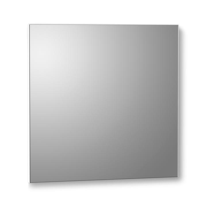 VertiMirror Wandspiegel 30 x 30 cm von Verti Copenhagen in weiß