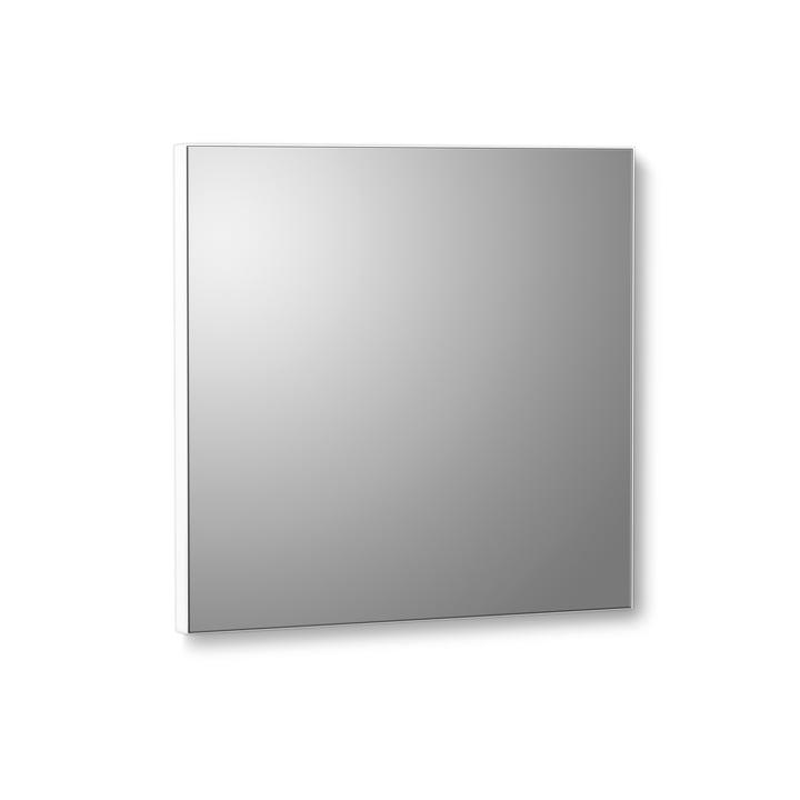 VertiMirror Mini Wandspiegel 15 x 15 cm von Verti Copenhagen in weiß