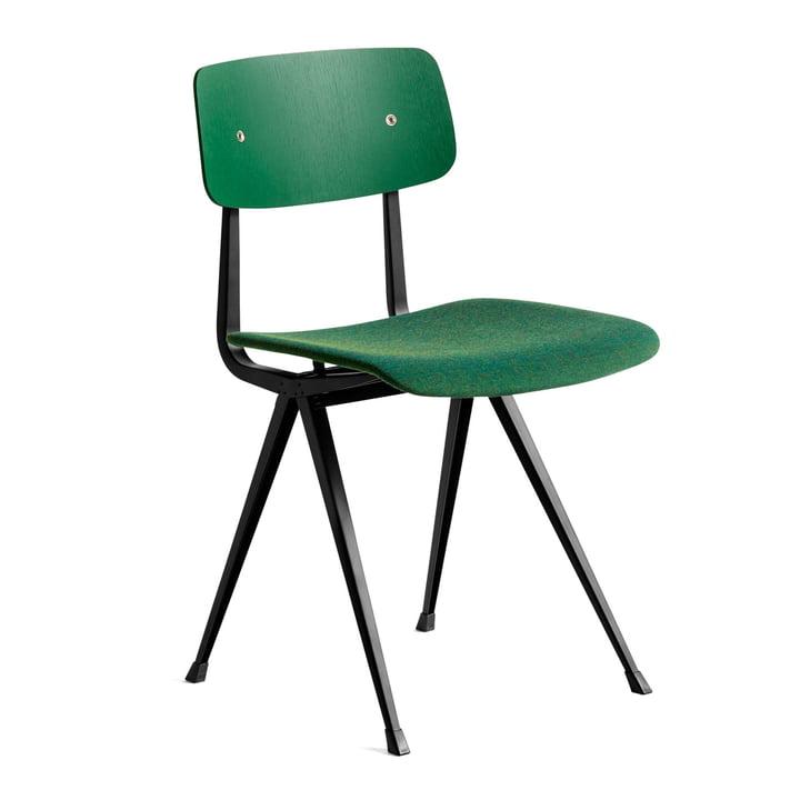 Result Chair von Hay in Eiche forest green gebeizt / schwarz / Remix (982)
