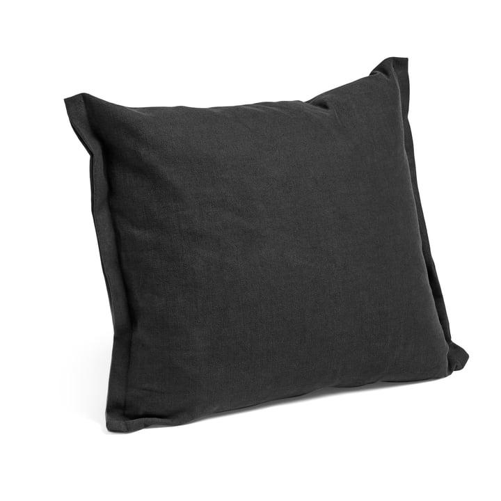 Plica Tint Kissen 60 x 55 cm von Hay in schwarz