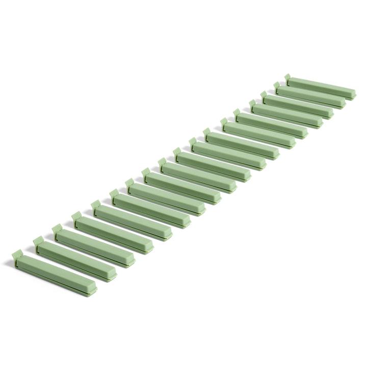Paquet Clip (18 tlg.) von Hay in grün