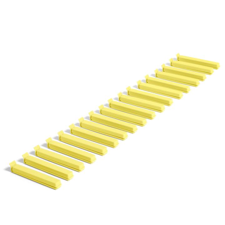 Paquet Clip (18 tlg.) von Hay in gelb