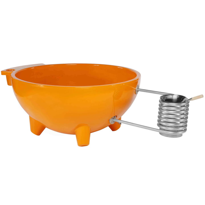 Dutchtub Original in orange von Weltevree