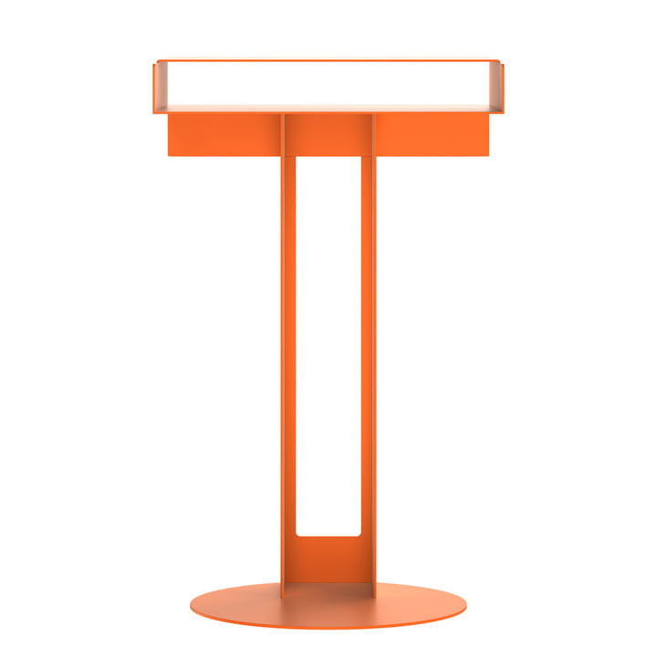 Meta Beistelltisch von New Tendency in orange