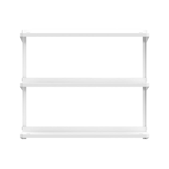 Click Regalsystem 710 × 210 × 610 mm von New Tendency in weiß