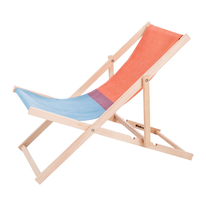 Beach Chair in rot / blau von Weltevree