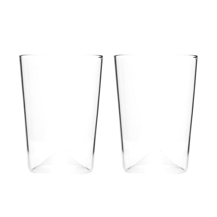 Rien Trinkglas Ø 81 x H 110 mm (2er-Set) von New Tendency