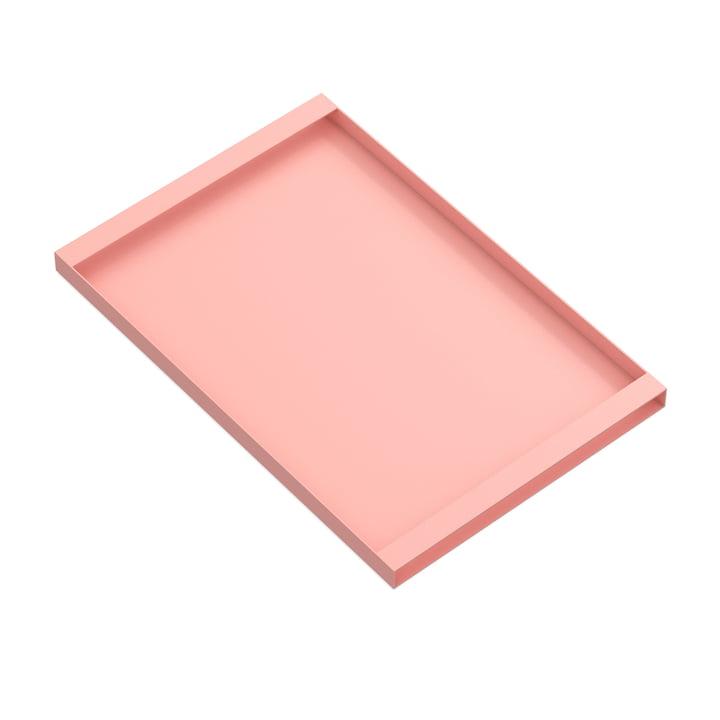 Torei Serviertablett 475 × 315 × 25 mm von New Tendency in rosa