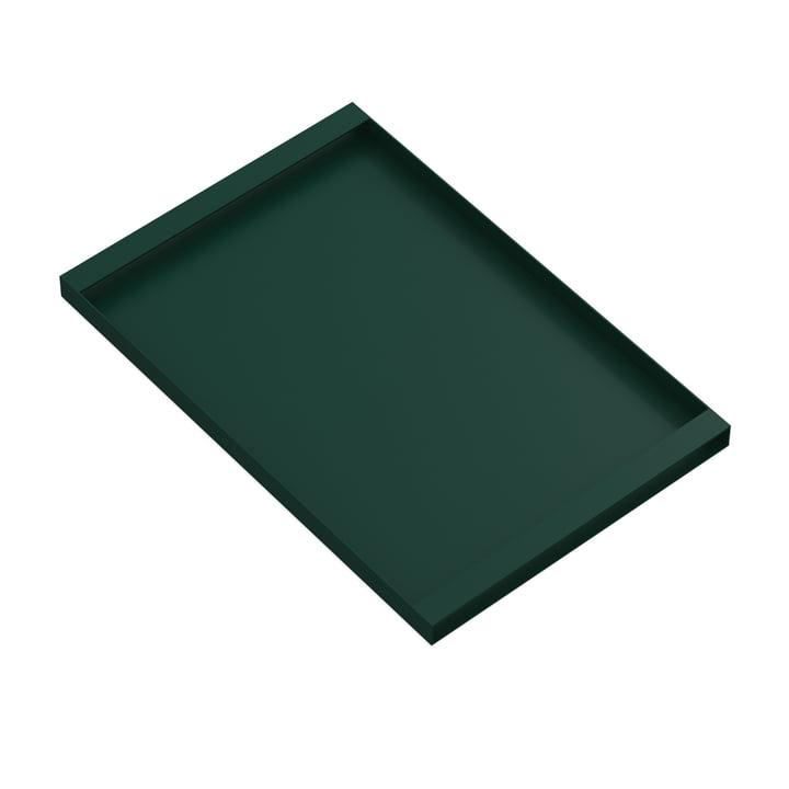 Torei Serviertablett 475 × 315 × 25 mm von New Tendency in dunkelgrün