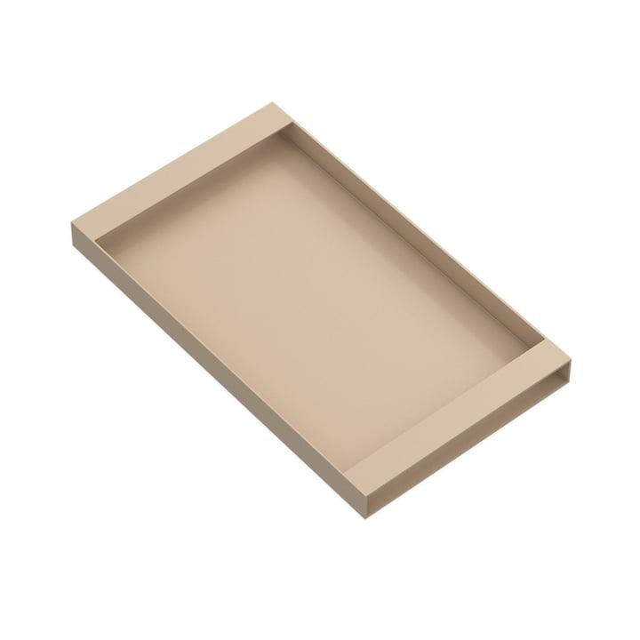 Torei Serviertablett 320 × 185 × 25 mm von New Tendency in sand