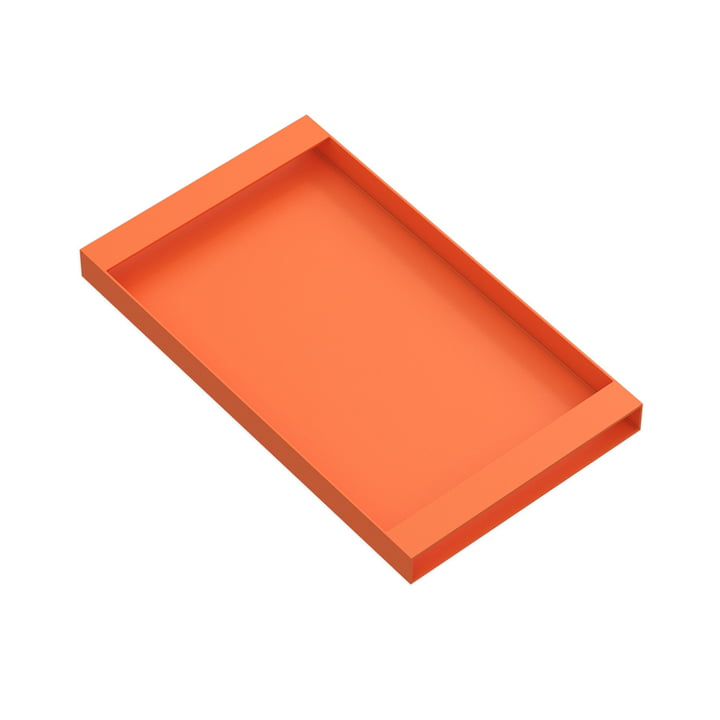 Torei Serviertablett 320 × 185 × 25 mm von New Tendency in orange