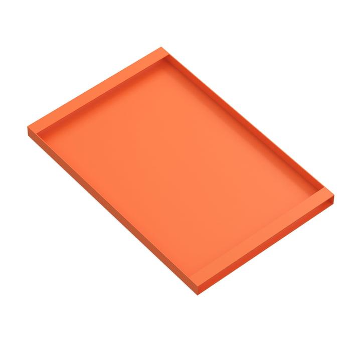 Torei Serviertablett 475 × 315 × 25 mm von New Tendency in orange
