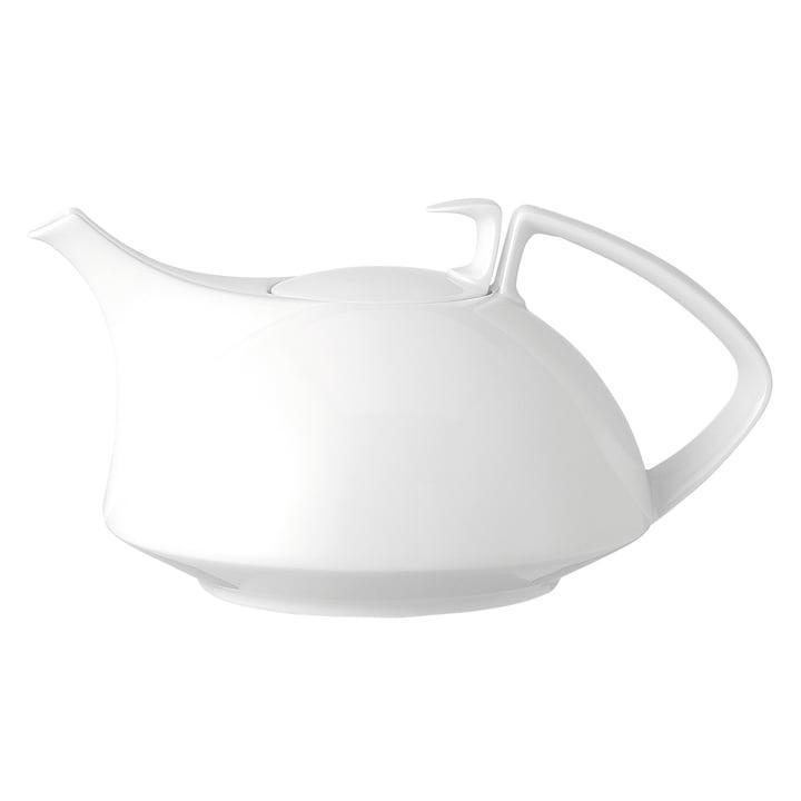 TAC Teekanne groß von Rosenthal in weiß