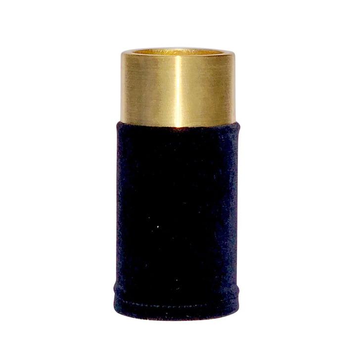 VertiHygge Vase / Teelichthalter von Verti Copenhagen in dunkelblau