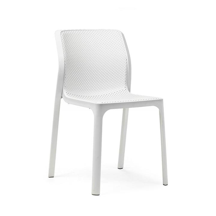 Der Bit Stuhl in weiß von Nardi