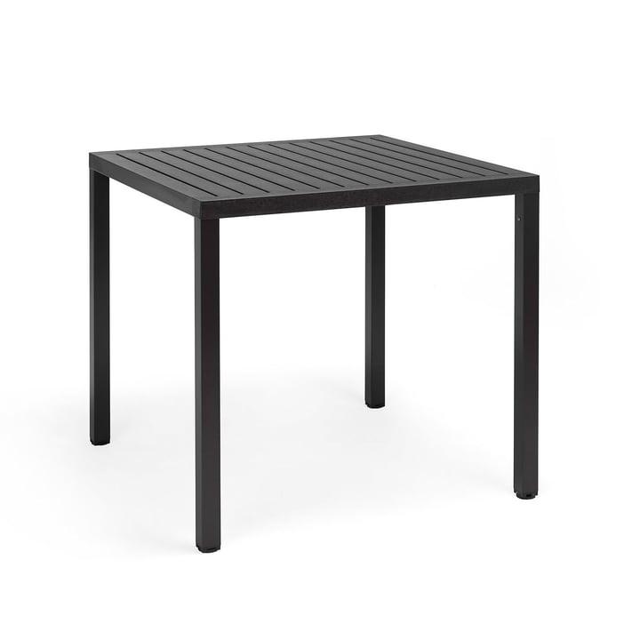 Der Cube Tisch 80 in anthrazit von Nardi
