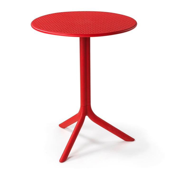 Der Step Tisch in rot von Nardi