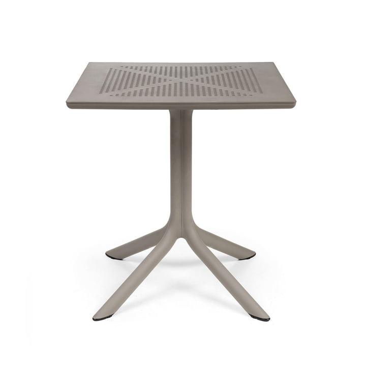 Der ClipX 70 Tisch in tortora von Nardi