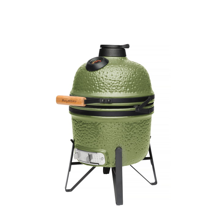 Ron Keramikgrill BBQ klein von Berghoff in grün
