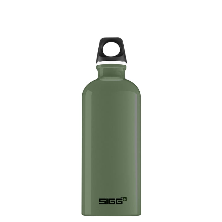 Traveller Trinkflasche 0,6 l von Sigg in leaf green