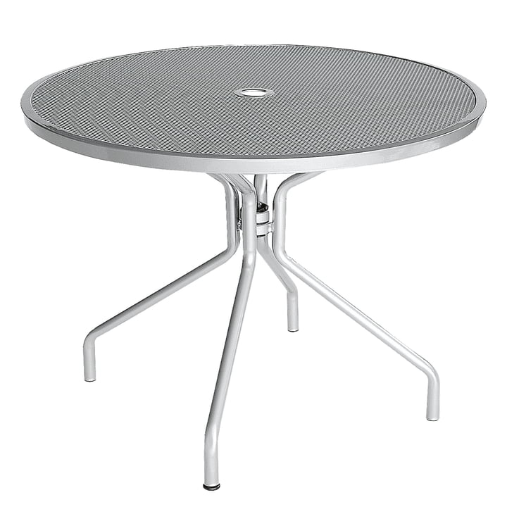 Cambi Tisch Ø 120 cm von Emu in Aluminium