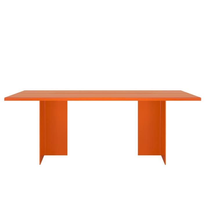 Zebe Tisch 200 x 85 cm von Objekte unserer Tage in reinorange