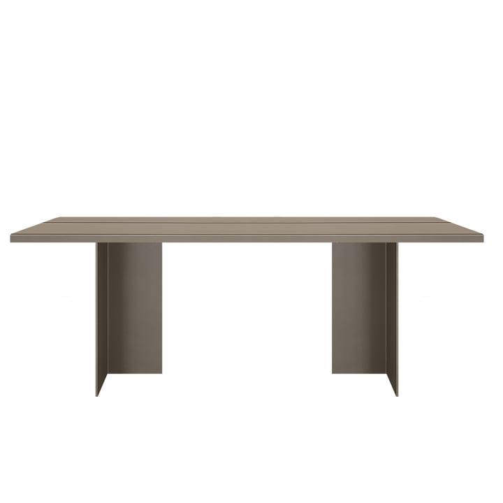 Zebe Tisch 200 x 85 cm von Objekte unserer Tage in oliv